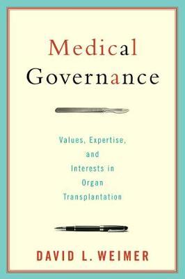 Medical Governance by David L. Weimer image