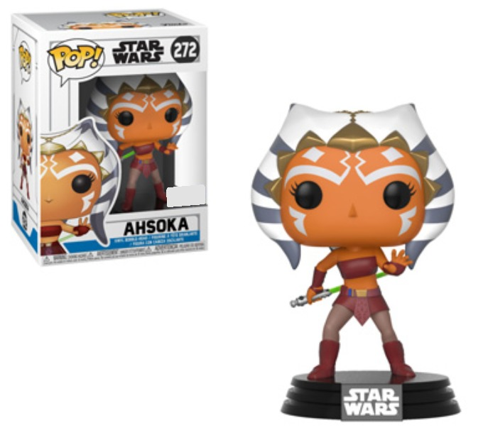 Star Wars: Clone Wars - Ahsoka Pose Pop! Vinyl Figure image