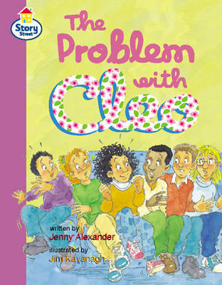 The Problem with Cleo Story Street Fluent Step 12: Book 4 by Jenny Alexander image
