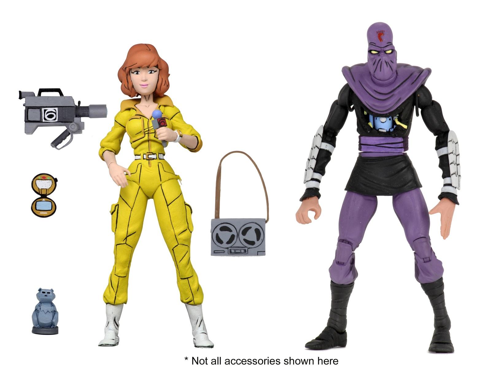 TMNT: Action Figure 2-Pack - April O'Neil & Foot Soldier image