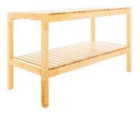 Fraser Country Solid Wood Slat Bench