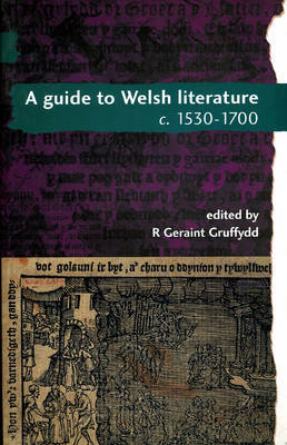 A Guide to Welsh Literature: 1530-1700 v. 3 image