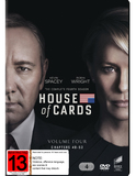 House Of Cards Season 4 DVD