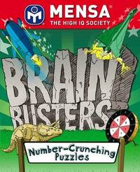 MENSA Brain Busters - Number Crunching Puzzles by Harold Gale image