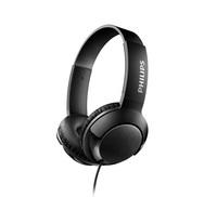 Philips On Ear Bass+ Headphones (Black)