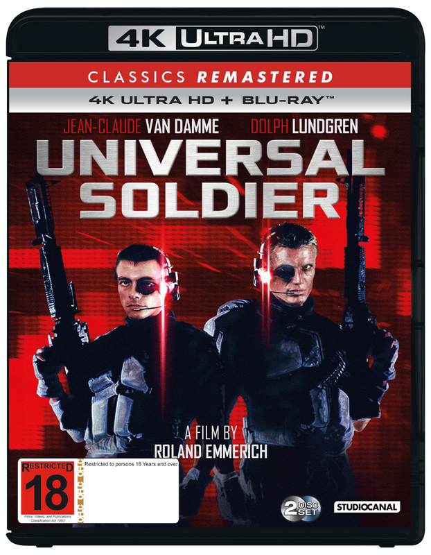 Classics Remastered: Universal Soldier (1992) (4K UHD + Blu-ray) on UHD Blu-ray