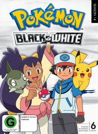Pokemon Season 14: Black & White on DVD