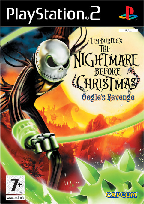 Tim Burton's The Nightmare Before Christmas: Oogie's Revenge for PS2