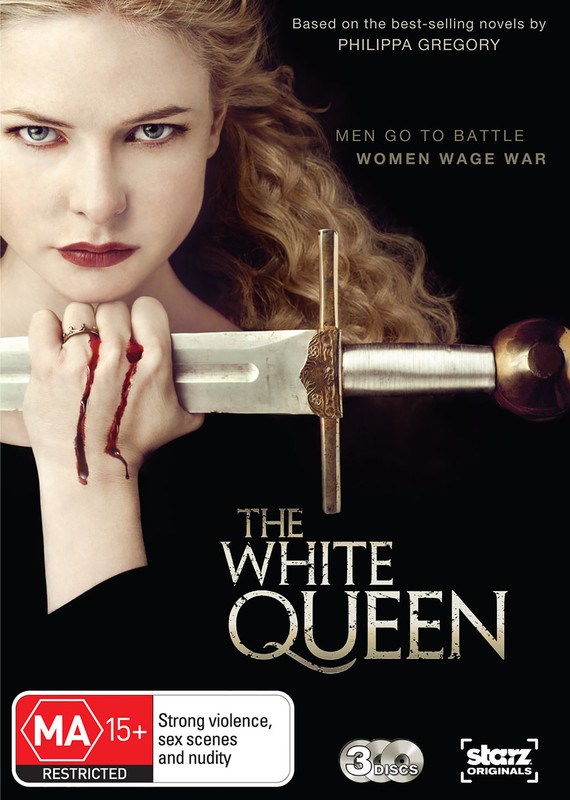 The White Queen on DVD