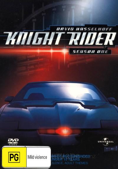 Knight Rider - Season 1 (8 Disc Box Set) on DVD