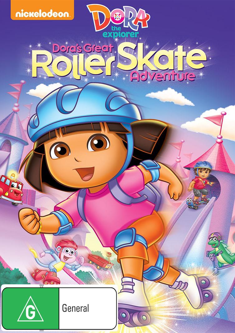 Dora The Explorer - Dora's Great Roller Skate Adventure on DVD image