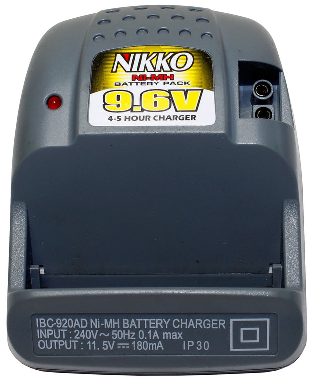 Nikko R/C 9 6V Plug-in Charger (Brute/Dragon) | at Mighty Ape NZ