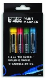 Liquitex: Acrylic Marker 6-Piece Set - 2mm