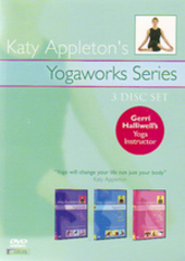 Katy Appleton - Yogaworks Series (3 Disc Set) on DVD