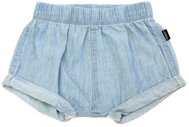 Bonds Chambray Shorts - Summer Blue (18-24 Months)