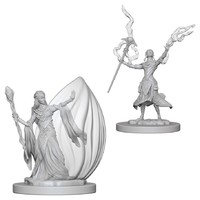 D&D Nolzurs Marvelous: Unpainted Minis - Elf Female Wizard