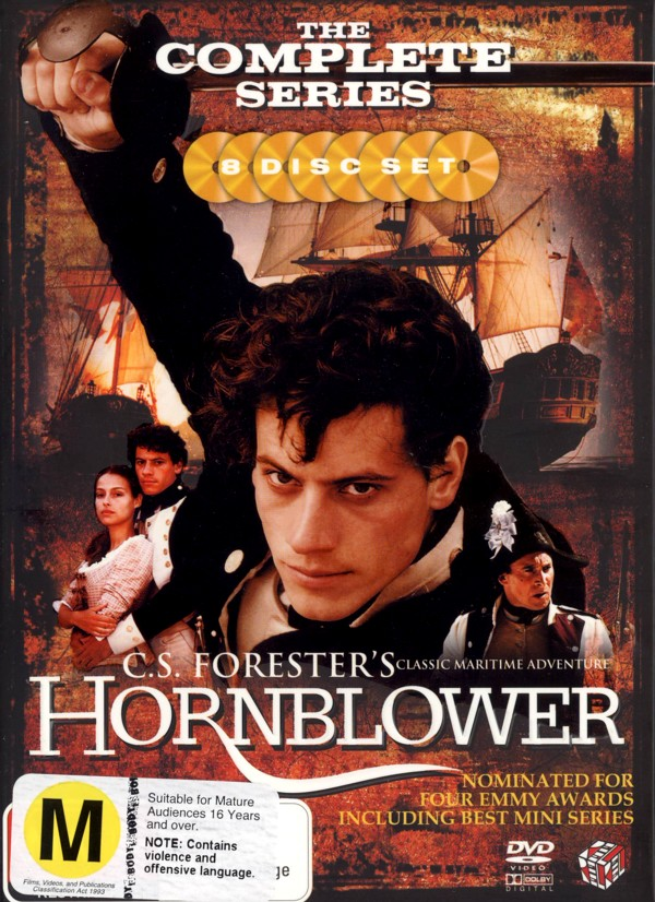 Hornblower - The Complete Series (8 Disc Box Set) on DVD image