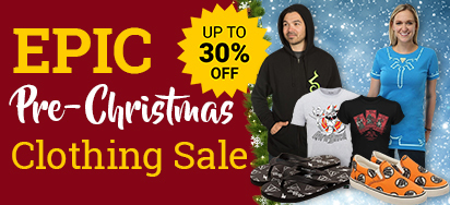 Epic Pre-Christmas Clothing Sale!