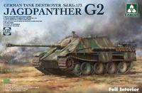 Takom 1/35 Jagdpanther G2 SD.KFZ.173 Winterior - Scale Model