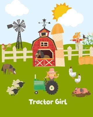 Tractor Girl by Kiddo Teacher Prints