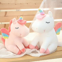 Sleeping Unicorn Plush - Pink (55cm)