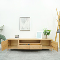 Espen Natural Solid Oak TV Cabinet