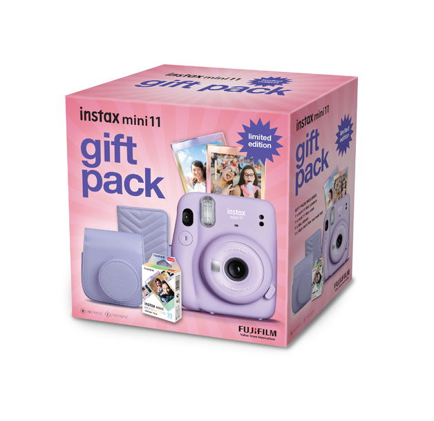 FujiFilm Instax Mini 11 Gift Pack Limited Edition - Purple