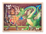 Melissa & Doug: Dragon Wooden Jigsaw (48pc)