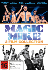 Magic Mike 1 and 2 DVD