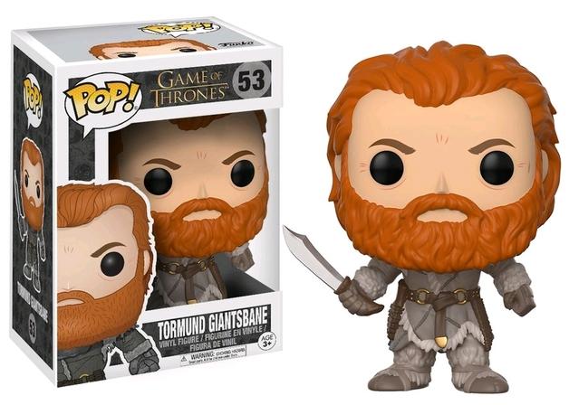 Game of Thrones (S8) - Tormund Giantsbane Pop! Vinyl Figure
