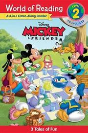 World of Reading Mickey and Friends Listen Along by Disney Book Group