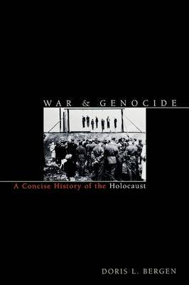 War and Genocide by Doris L Bergen image