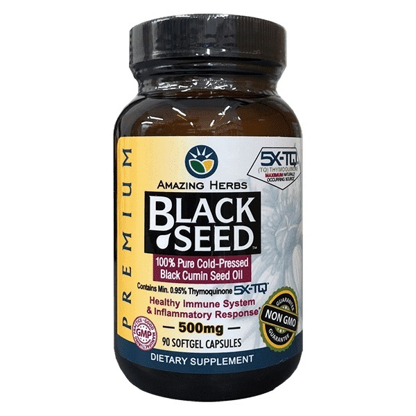 Amazing Herbs Black Seed Premium Oil Softgels (90s)