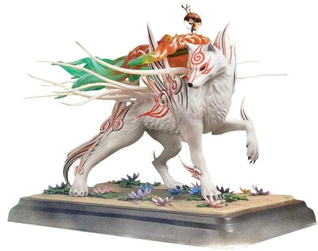 "Okami: Shiranui - 14"" Premium Statue"