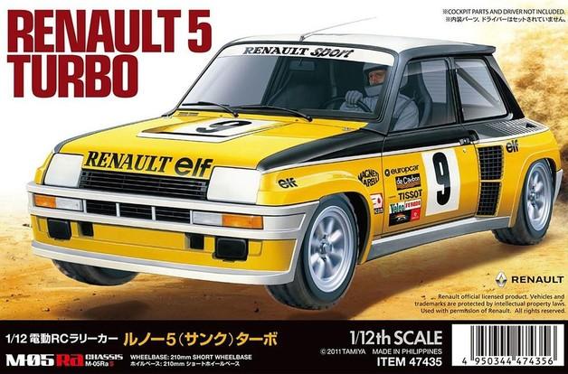 Tamiya 1/12 R/C Renault 5 Turbo (M-05Ra)