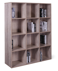 12 Cube Storage Cubby - Wood Grain