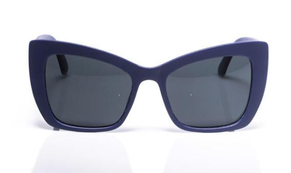 Electric Pukeko: Polarised Sunglasses - Matte Navy