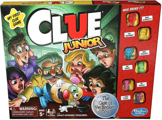 Cluedo: Junior Edition - Case of the Broken Toy
