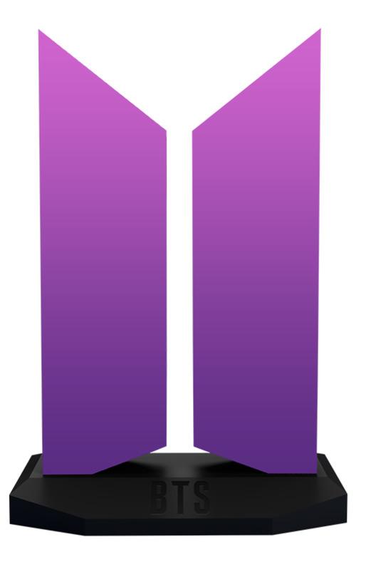 BTS: The Color of Love Edition - Premium Logo Statue