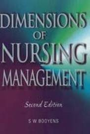 Dimensions of Nursing Management by S.W. Booyens image
