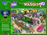 Wasgij Destiny 1000pc Puzzle - 13 Commuting Chaos