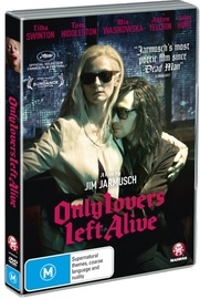Only Lovers Left Alive on DVD image
