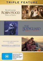 Robin Hood - Prince Of Thieves / Bodyguard / Message In A Bottle - Triple Feature (3 Disc Set) on DVD