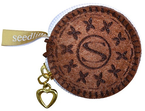 Seedling: Cookie Coin Purse - Chocolate