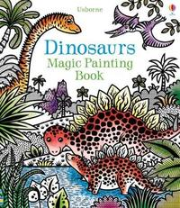 Dinosaurs Magic Painting Book by Lucy Bowman