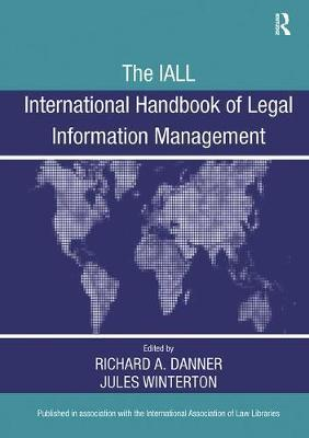 The IALL International Handbook of Legal Information Management by Richard A. Danner image