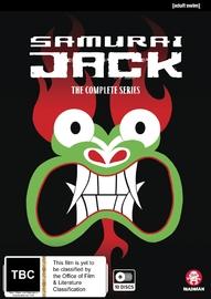 Samurai Jack - The Complete Seasons 1-5 on DVD