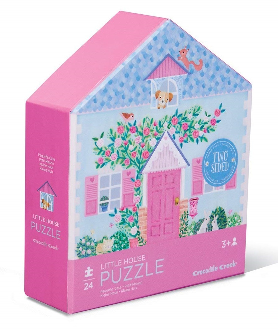 Crocodile Creek: Two-Sided Puzzle - Little House image