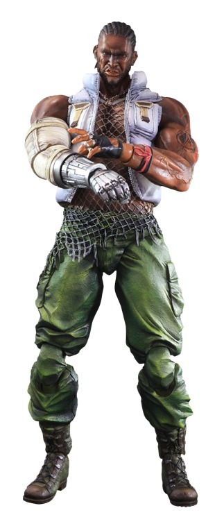 Final Fantasy VII Advent Children: Barret Wallace - Play Arts Kai Figure image