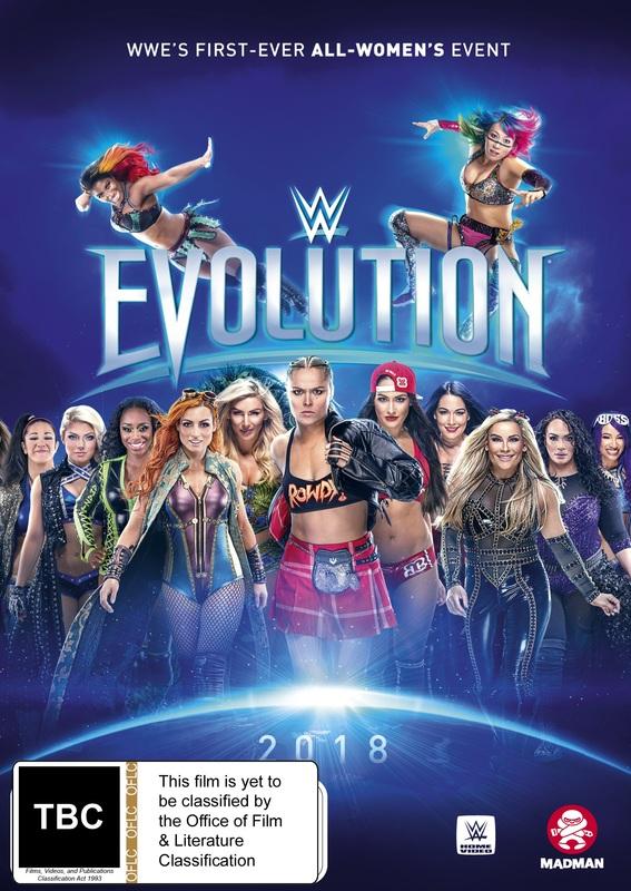 WWE: Evolution on DVD